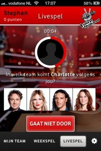 livespel the voice of holland