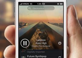 Radium radio-app iPhone