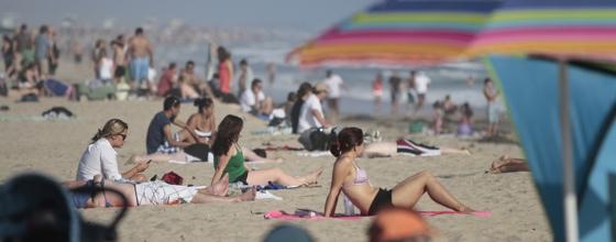 Strand-apps iPhone strandweer surfen warmte