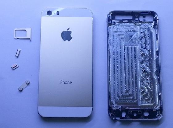 iPhone 5S binnen buiten