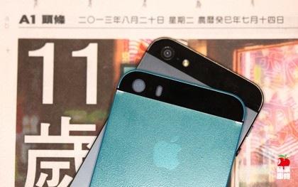 iphone 5s blauwe coating
