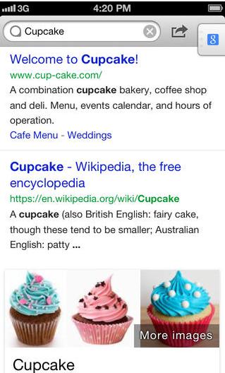Phlo cupcake