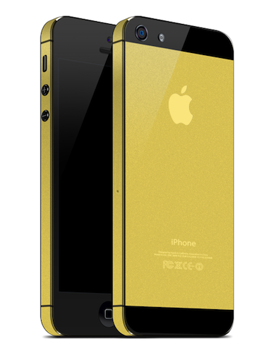 Golden iPhone AnoStyle