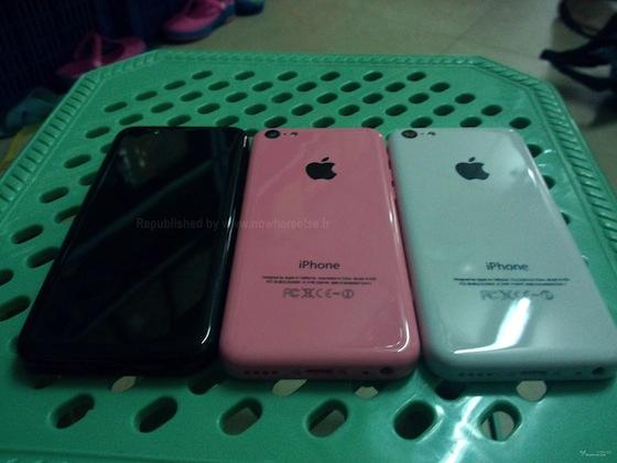 iPhone 5C zwart roze wit