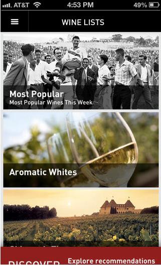 Drync Wine List