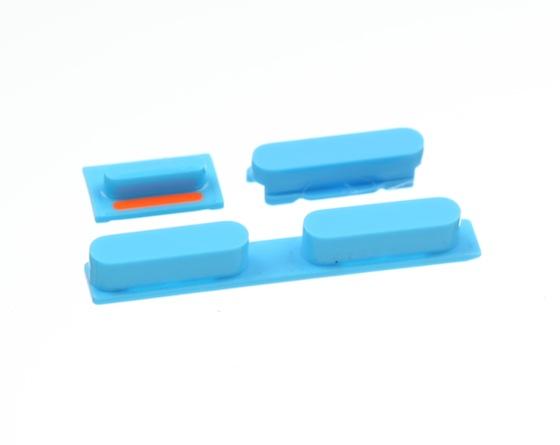 iPhone 5C volumeknop blauw