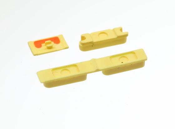 iPhone 5C volumeknop geel