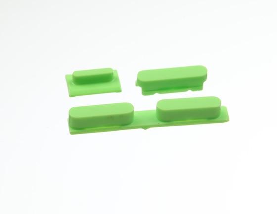 iPhone 5C volumeknop groen