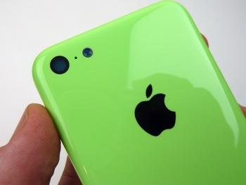 iphone 5c plastic groen