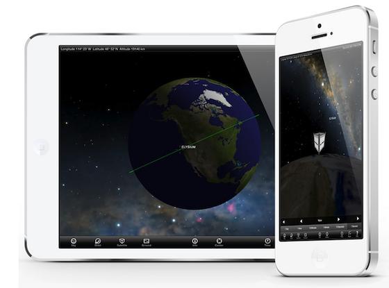 Elysium Space app