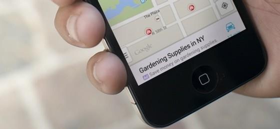 google maps reclame
