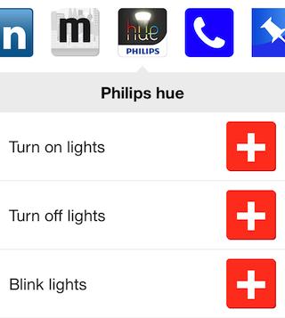 IFTTT Philips Hue