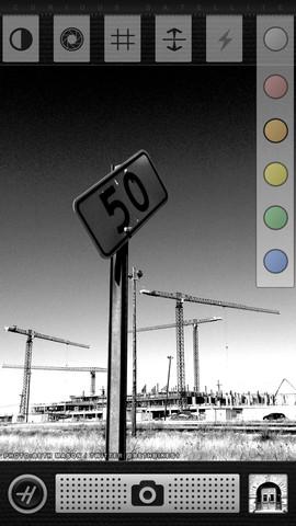 Beste fotofilters zwartwit iPhone Hueless