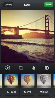 Beste fotofilter apps iPhone Instagram filters