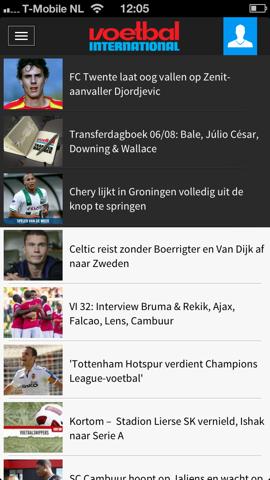 Voetbal International nieuwsberichten
