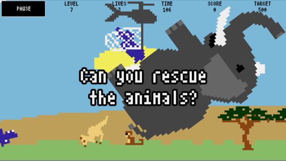 GU VR Safari Rescue olifantje hijsen iOS