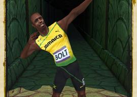 Temple Run 2 Usain Bolt rennen