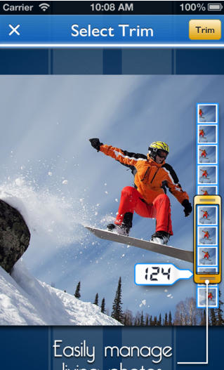 Snappycam snowboard
