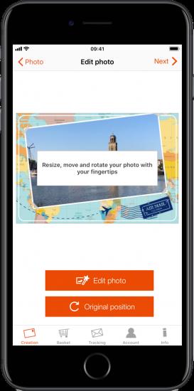 Apps om vakantiekaartjes te maken: popcarte