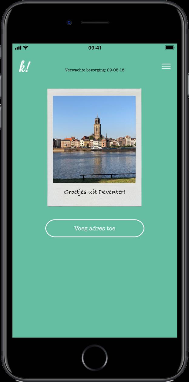Apps om vakantiekaartjes te maken: Klepper