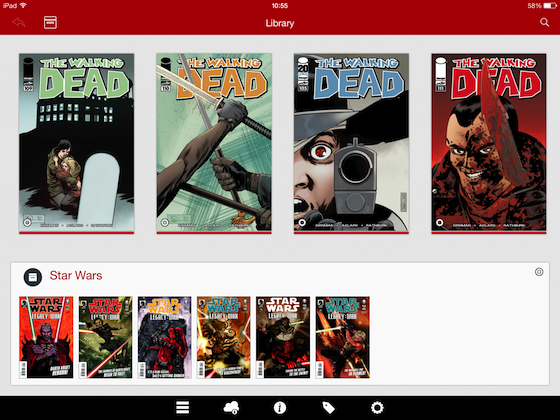 Comic Zeal iPad