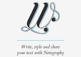 Notegraphy iPad iPhone tekst opmaken