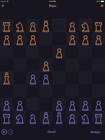 En Passant nachtthema schaken iOS