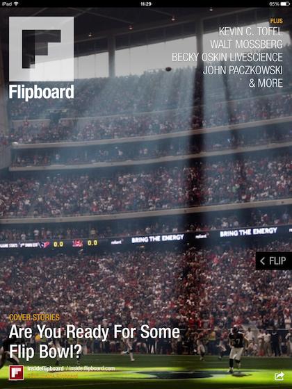 Flipboard iOS 7