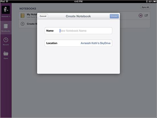 onenote-notebook-maken