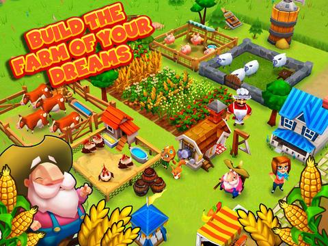 Farm Story 2 overzicht boerderij