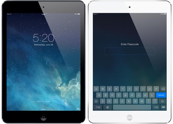 iPad mini iOS 7