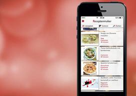 Receptenmaker iPhone-app