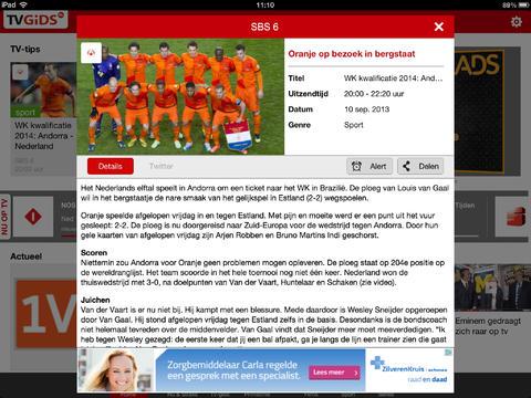 TVGids.nl iPad-app