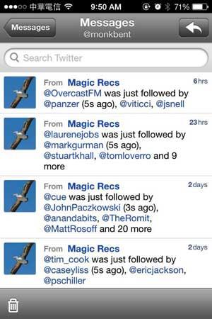 twitter-magicrecs-aanbevelingen