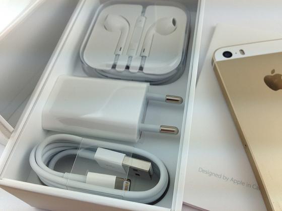 inhoud doos iphone 5s