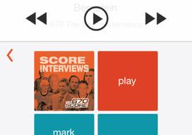 Slide for Podcasts iPhone header