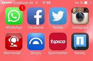 WhatsApp iOS 7 icon