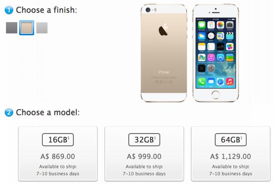 iphone 5s goud levertijd
