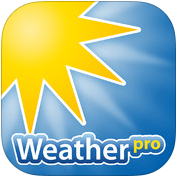 WeatherPro iPhone iOS 7