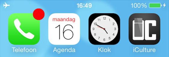 iOS 7 iculture providerloos