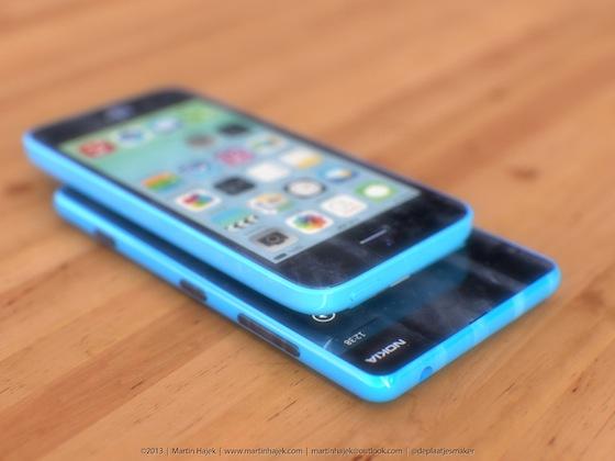 iPhone 5c lumia 3