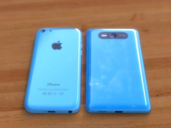 iPhone 5c lumia 2