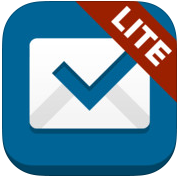 Boxer Lite Hotmail Outlook Gmail op iPhone