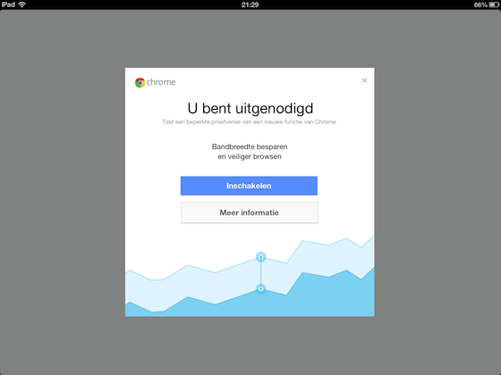 Chrome update iPad