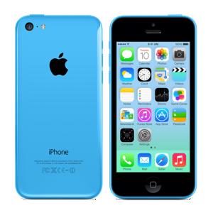 iPhone 5c blauw