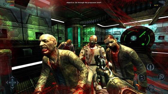 Dead Effect zombies schieten iOS