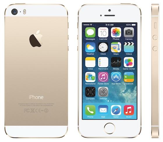 iPhone 5s goud alle kanten