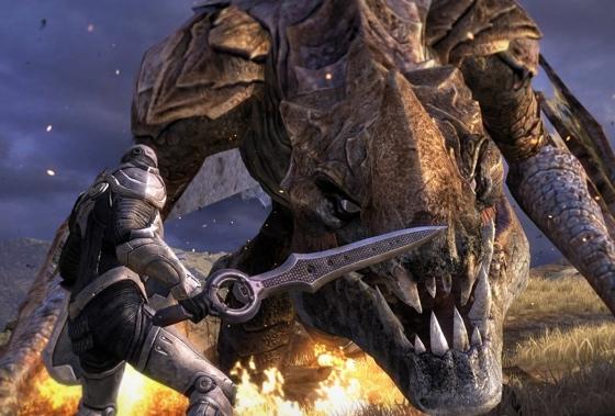 Infinity Blade III eindbaas draak