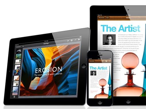iWork apps voor iOS gratis