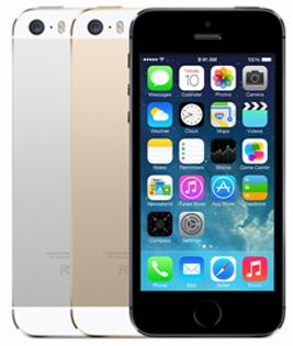 apple iphone 5S drie kleuren